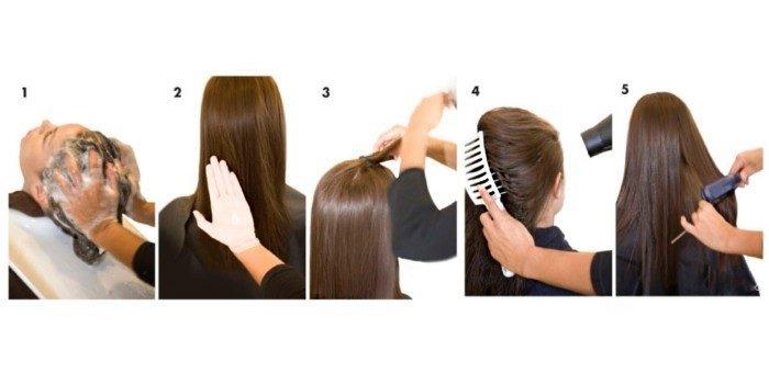 кератинування волосся вдома
