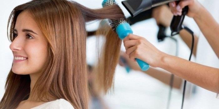 як зробити волосся прямим