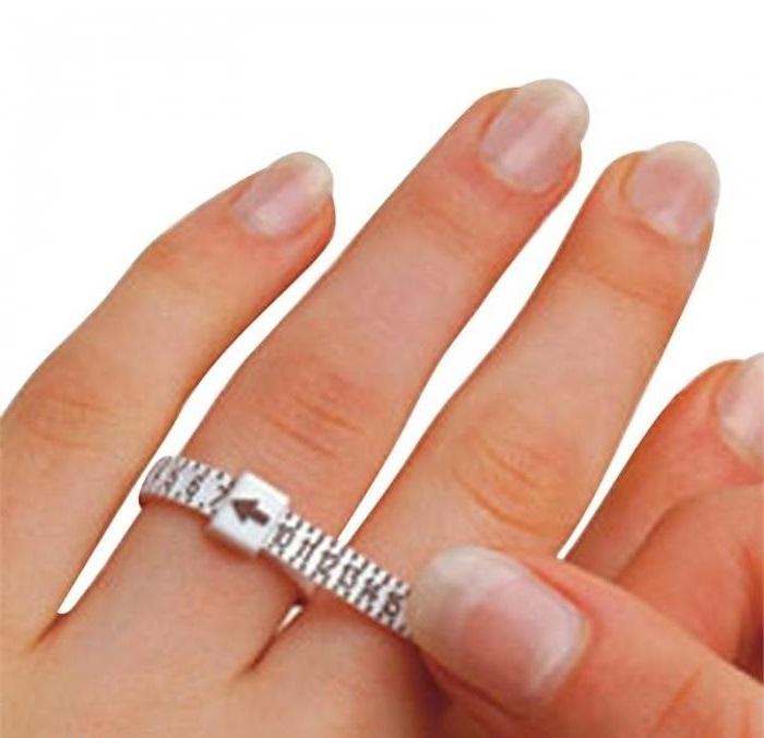 Як визначити розмір пальця для кільця