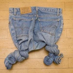 як правильно відбілити джинси