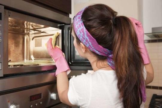 як відчистити мікрохвильовку в домашніх умовах