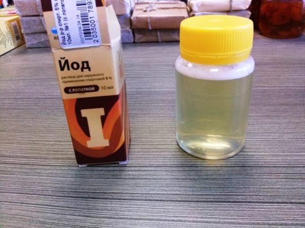 як перевірити мед йодом