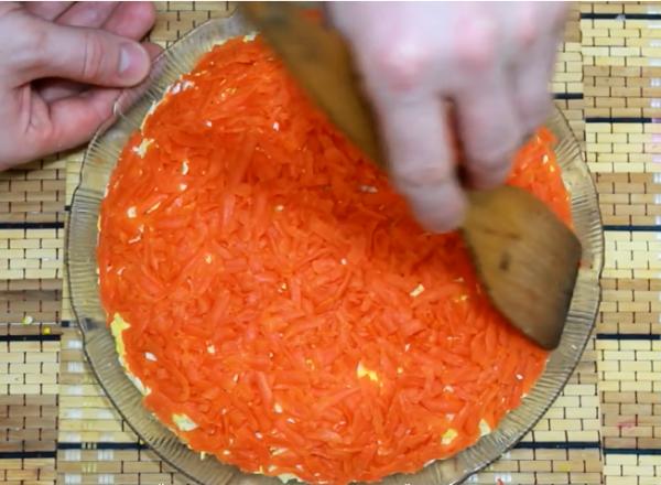 салат шуба з яйцем