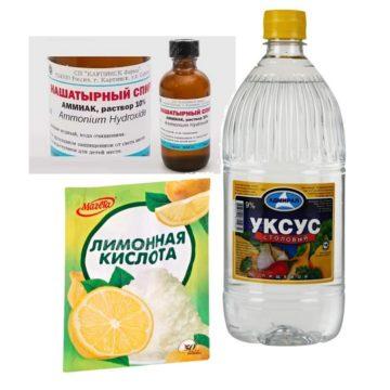 видалення іржі лимонною кислотою