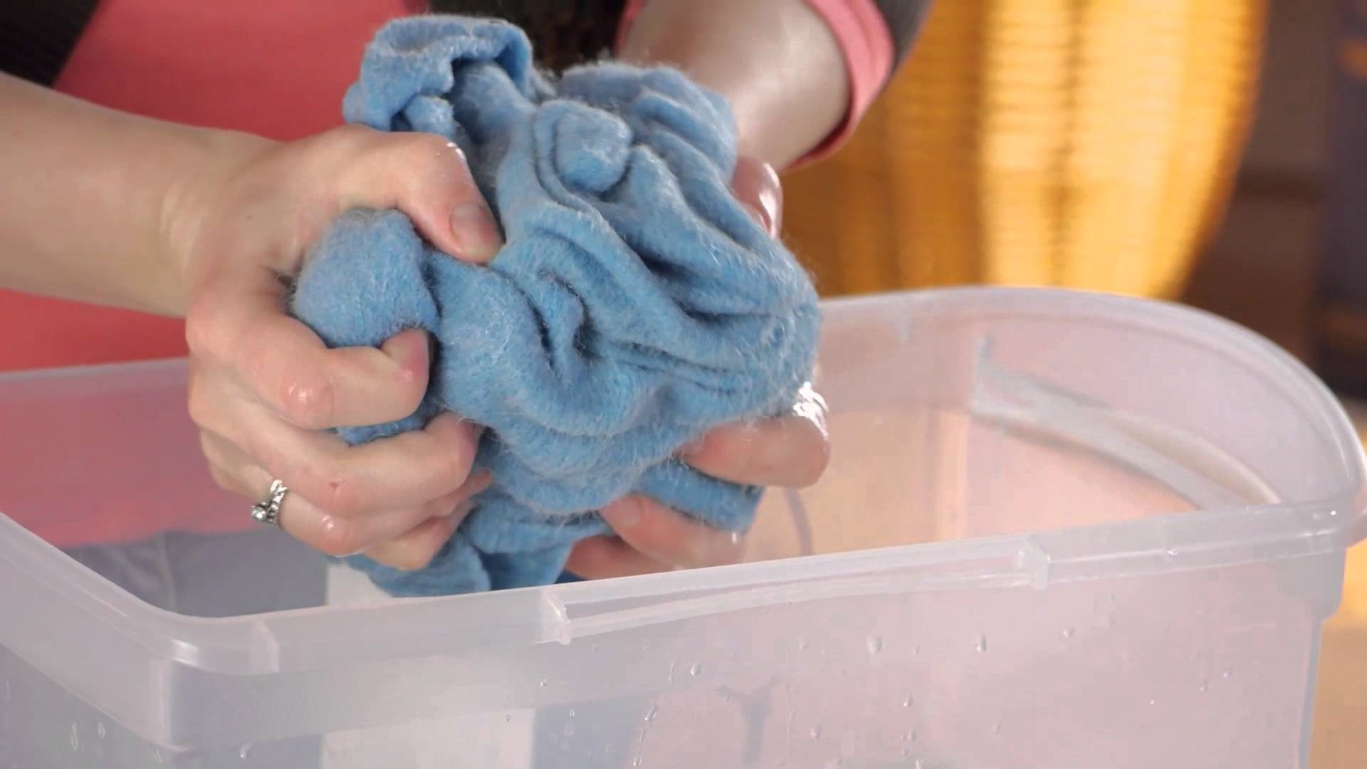 як прати вовняні речі щоб вони не кололися