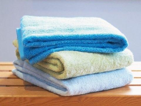 як пом'якшити махрові рушники