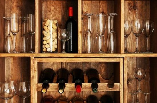 Винотека в квартирі
