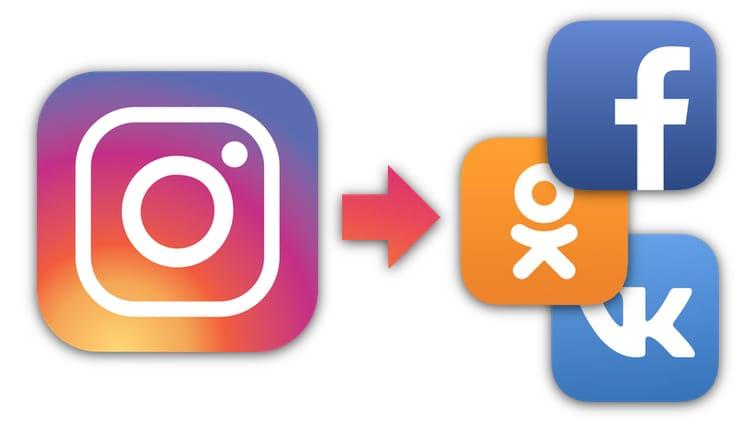 як прив'язати фейсбук до інстаграму