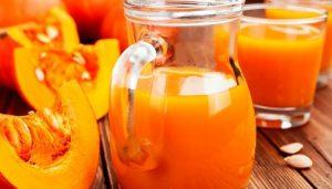 гарбузовий сік з апельсином на зиму