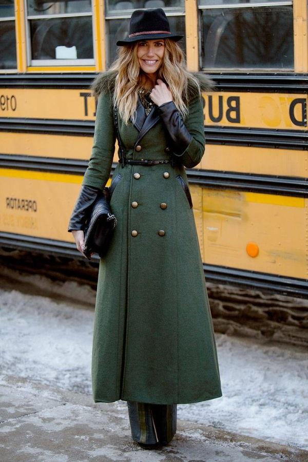 жіноче пальто мілітарі