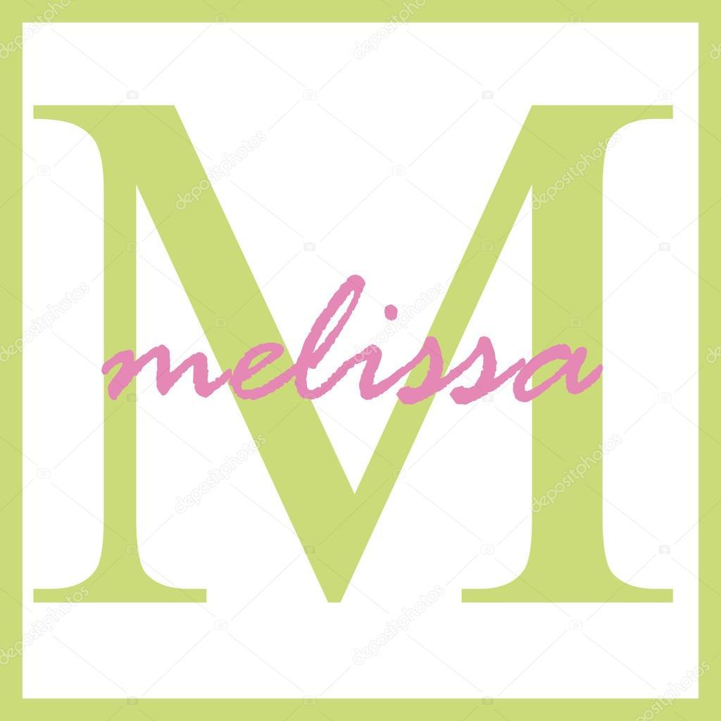 Що означає ім'я Меліса