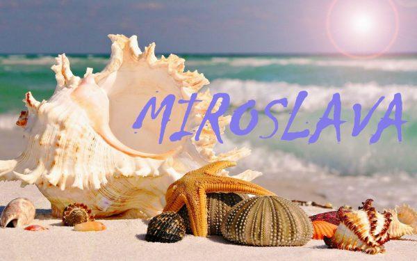 Що означає ім'я Мирослава