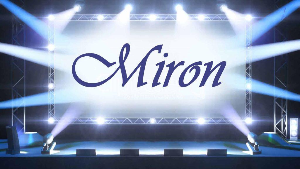 Що означає ім'я Мирон