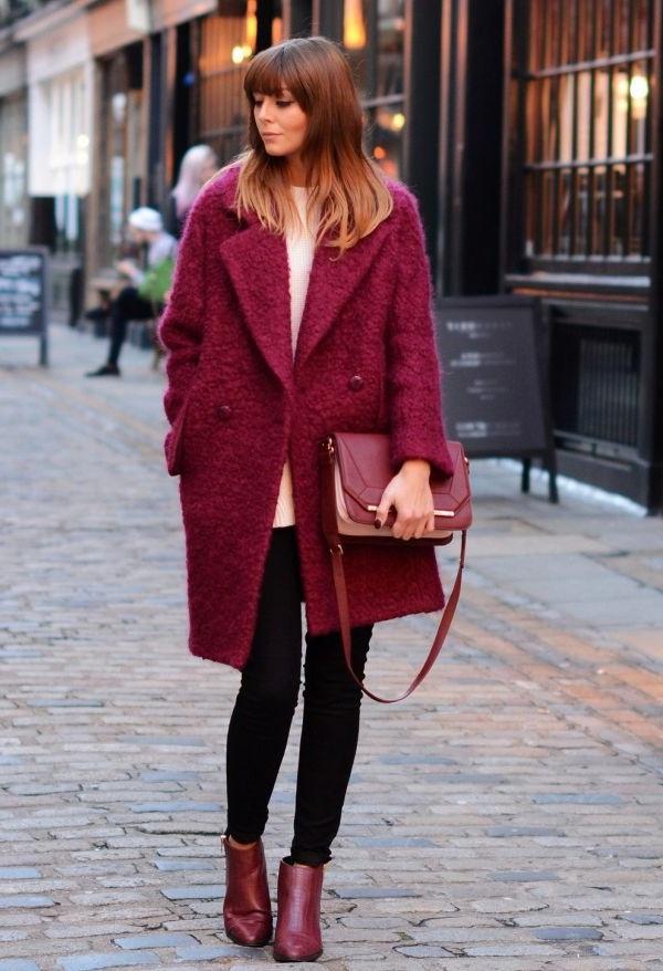 жіноче пальто букле фото