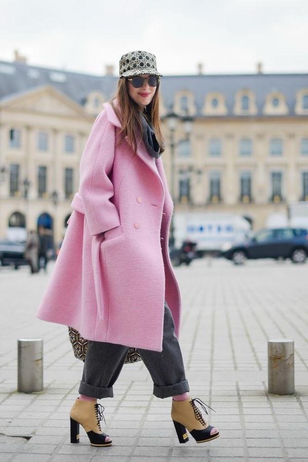 жіноче пальто міді