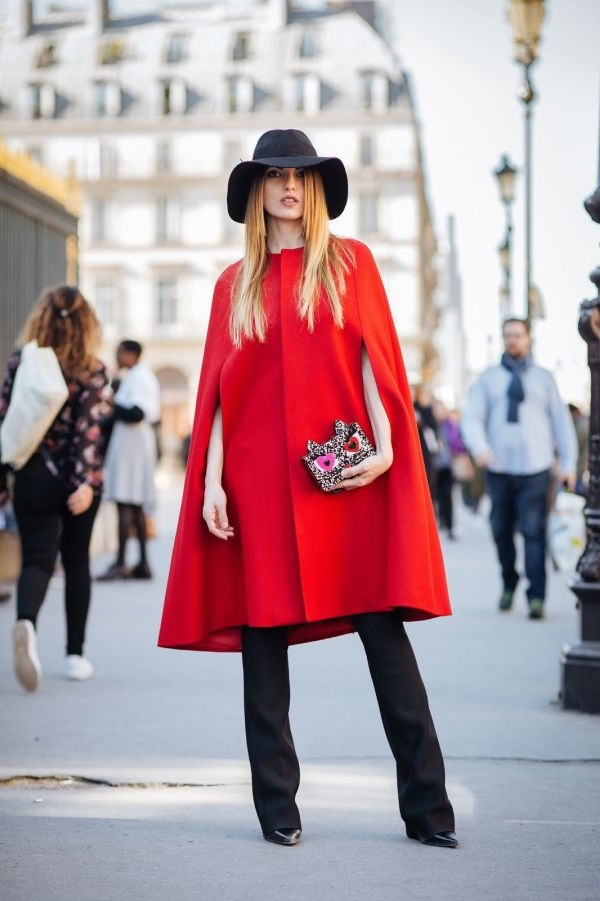 пальто Червоний кейп