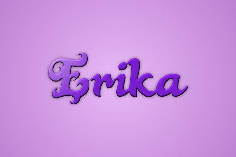 Що означає ім'я Еріка