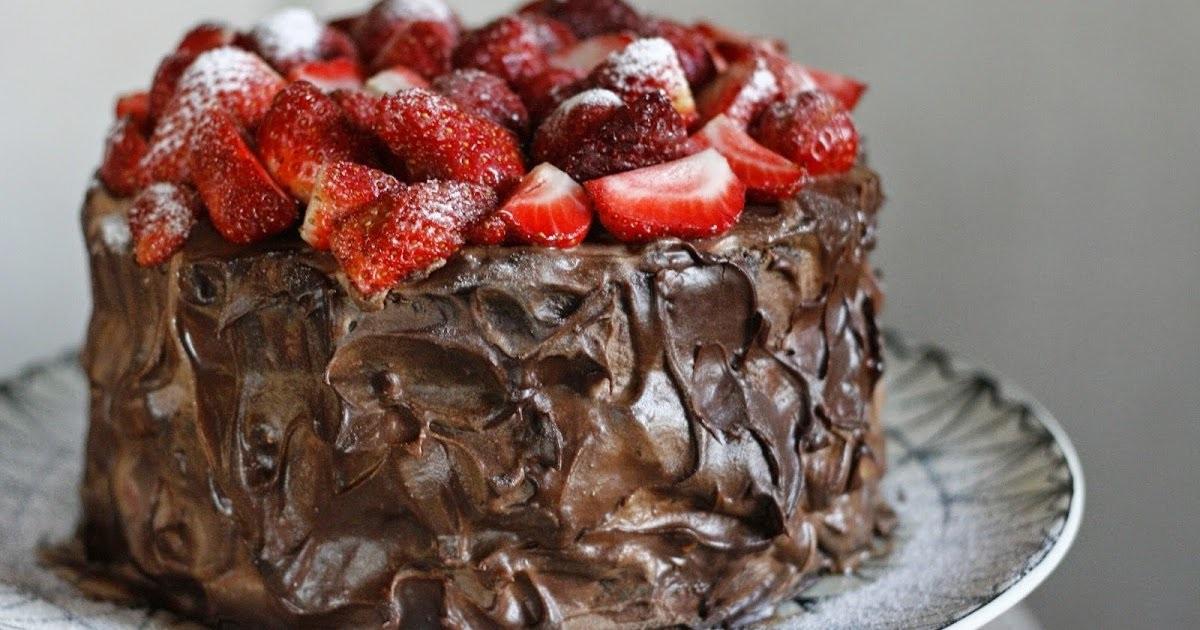 Торт шоколадний на День святого Валтентина