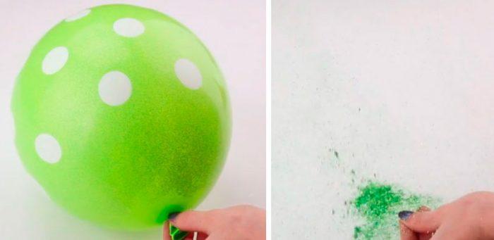 Хлопавка з кульки