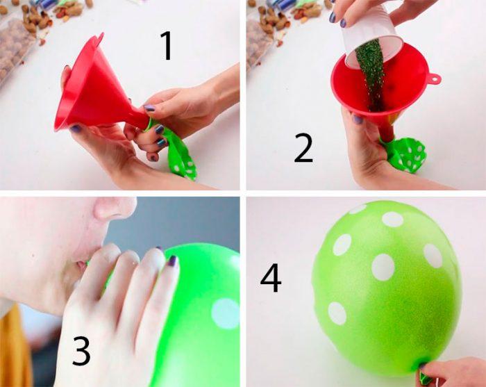 Хлопавка з кульки майстер-клас
