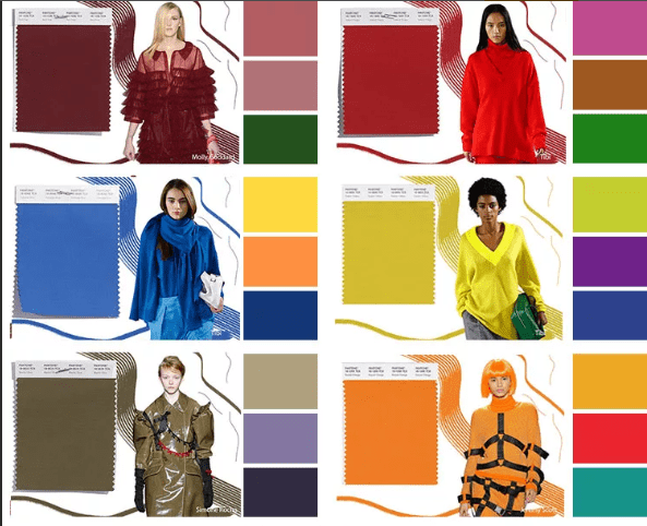 модні кольори 2019 року