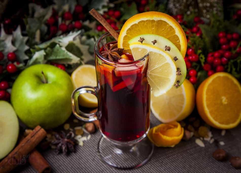 рецепт безалкогольного глінтвейну