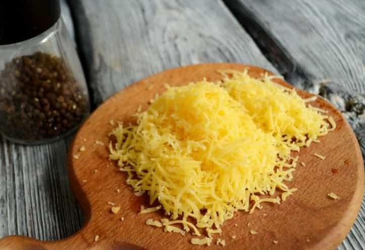 дрібно натертий сир
