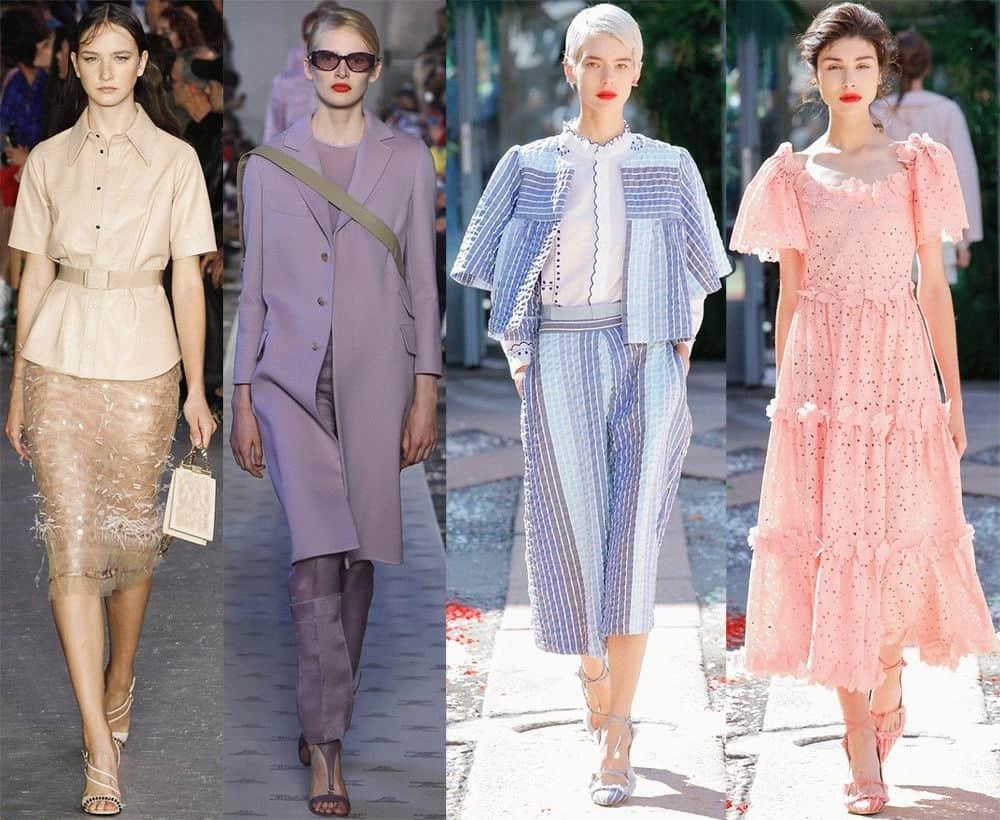 який колір буде в моді 2019
