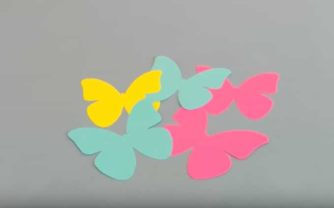 листівка з кольорового паперу