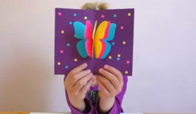 листівка метелик своїми руками