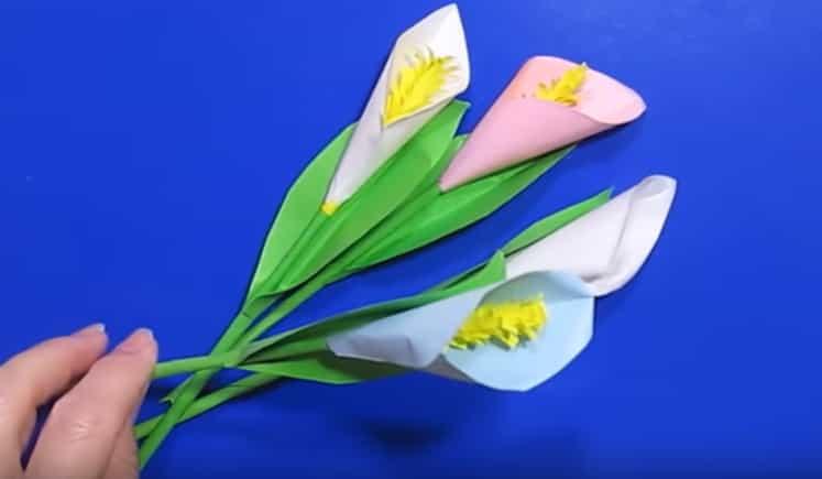 квіти з паперу своїми руками