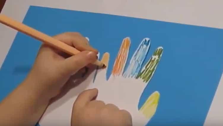 розмальовуємо пальчики