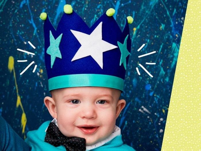Корона для хлопчика