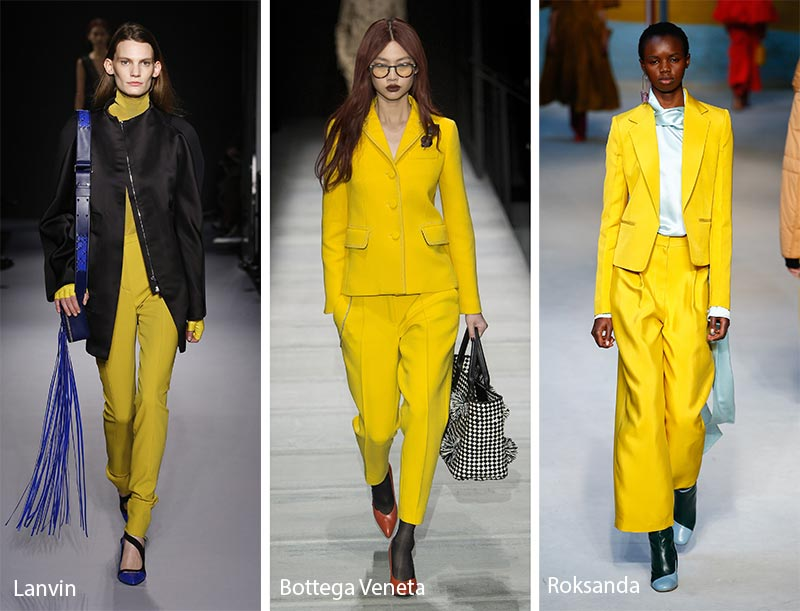 жовті жіночі костюми 2019