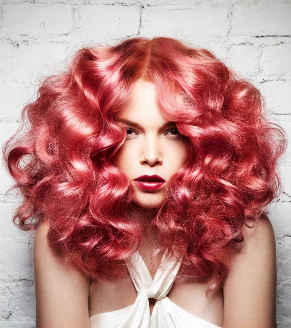 кораловий колір волосся 2019