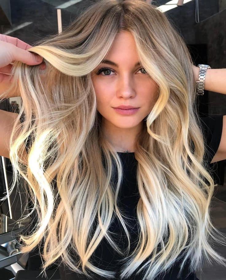 фарбування для блондинок 2019