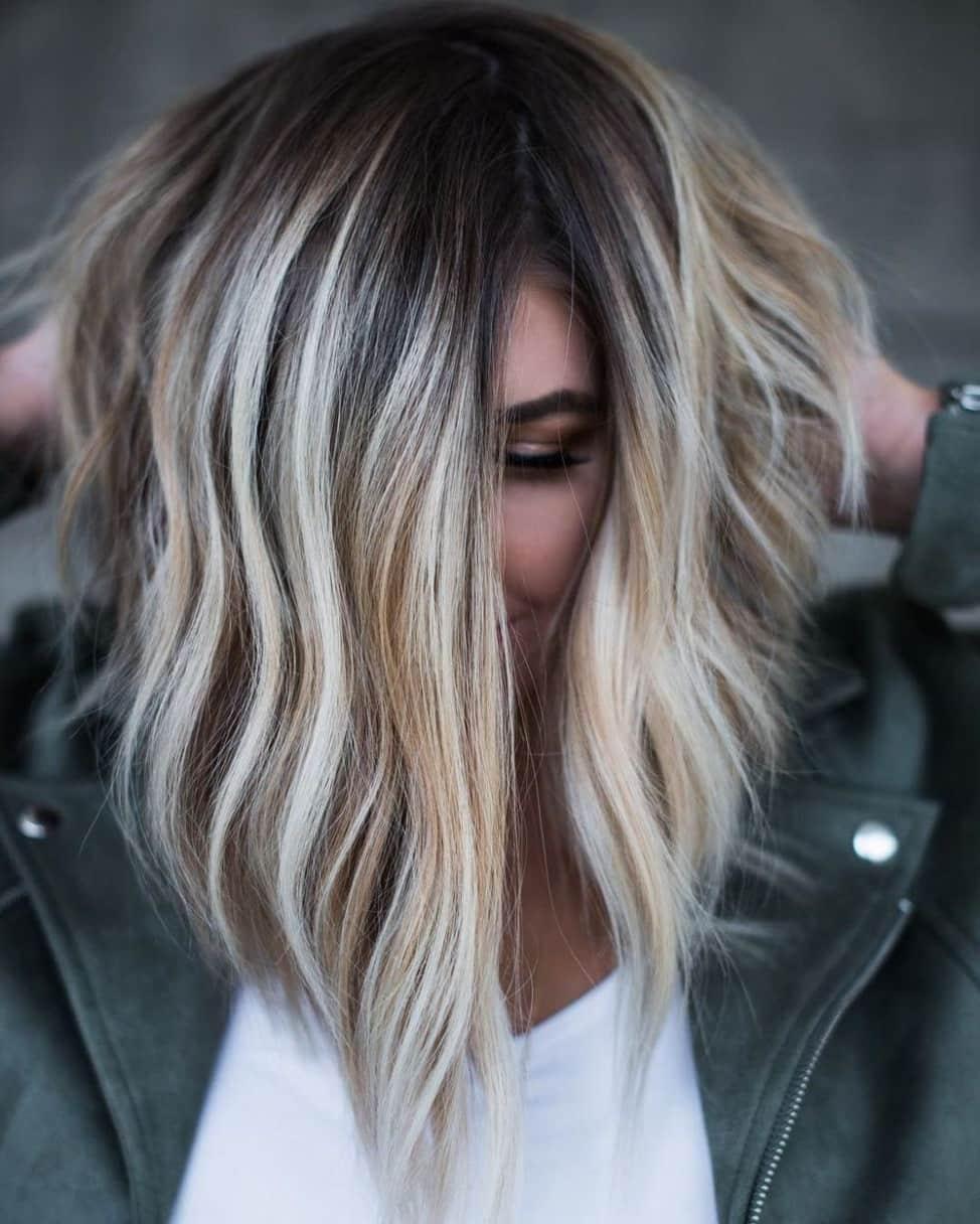 Омбре для короткого волосся 2019