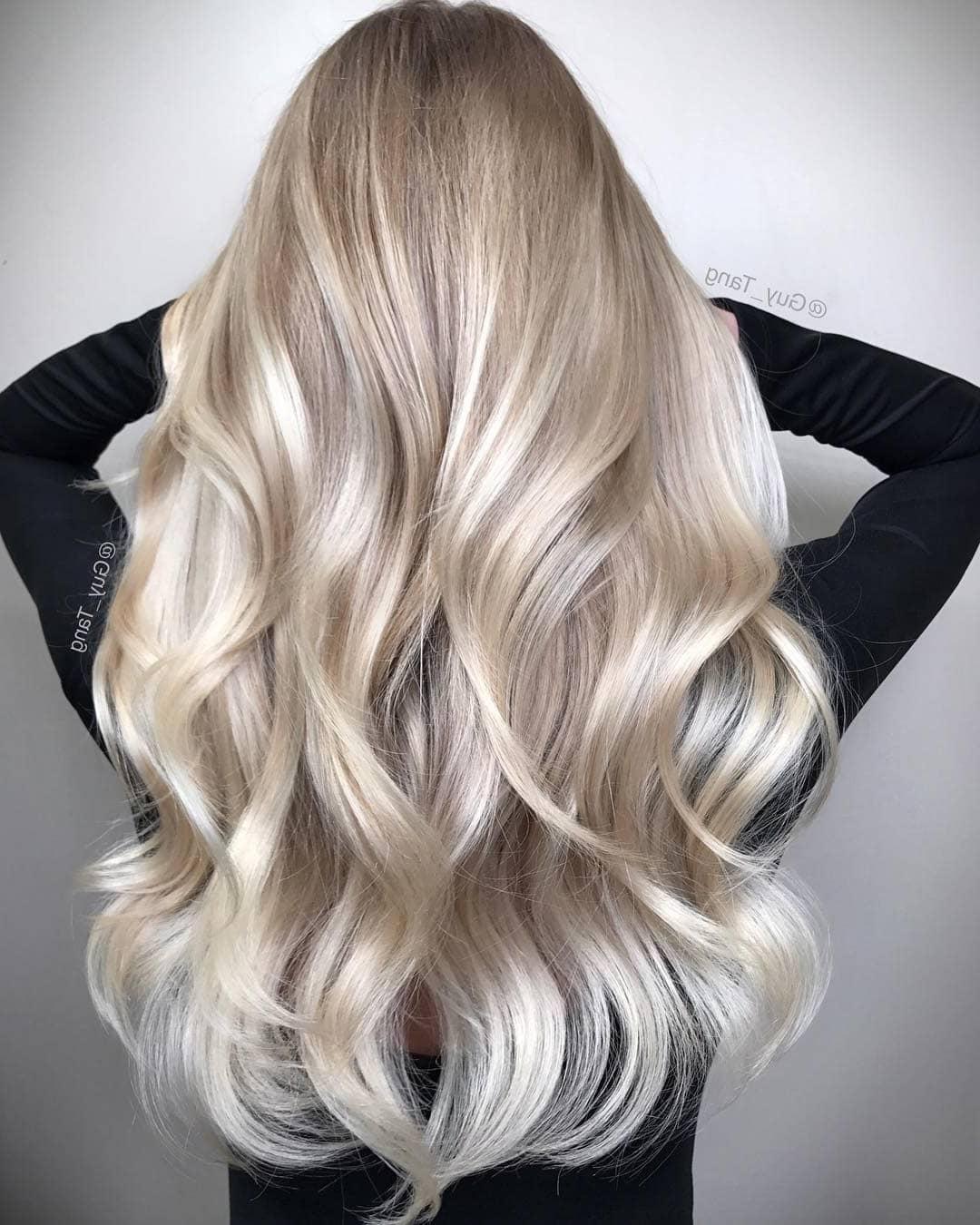 платиновий блонд 2019