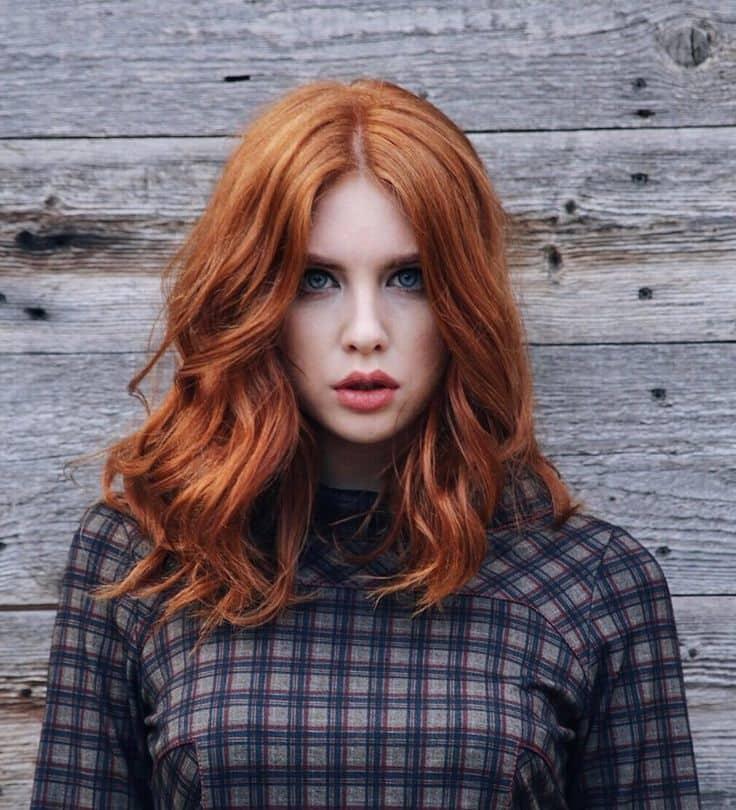 Імбирний відтінок волосся 2019