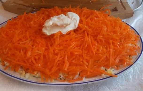 кладемо моркву