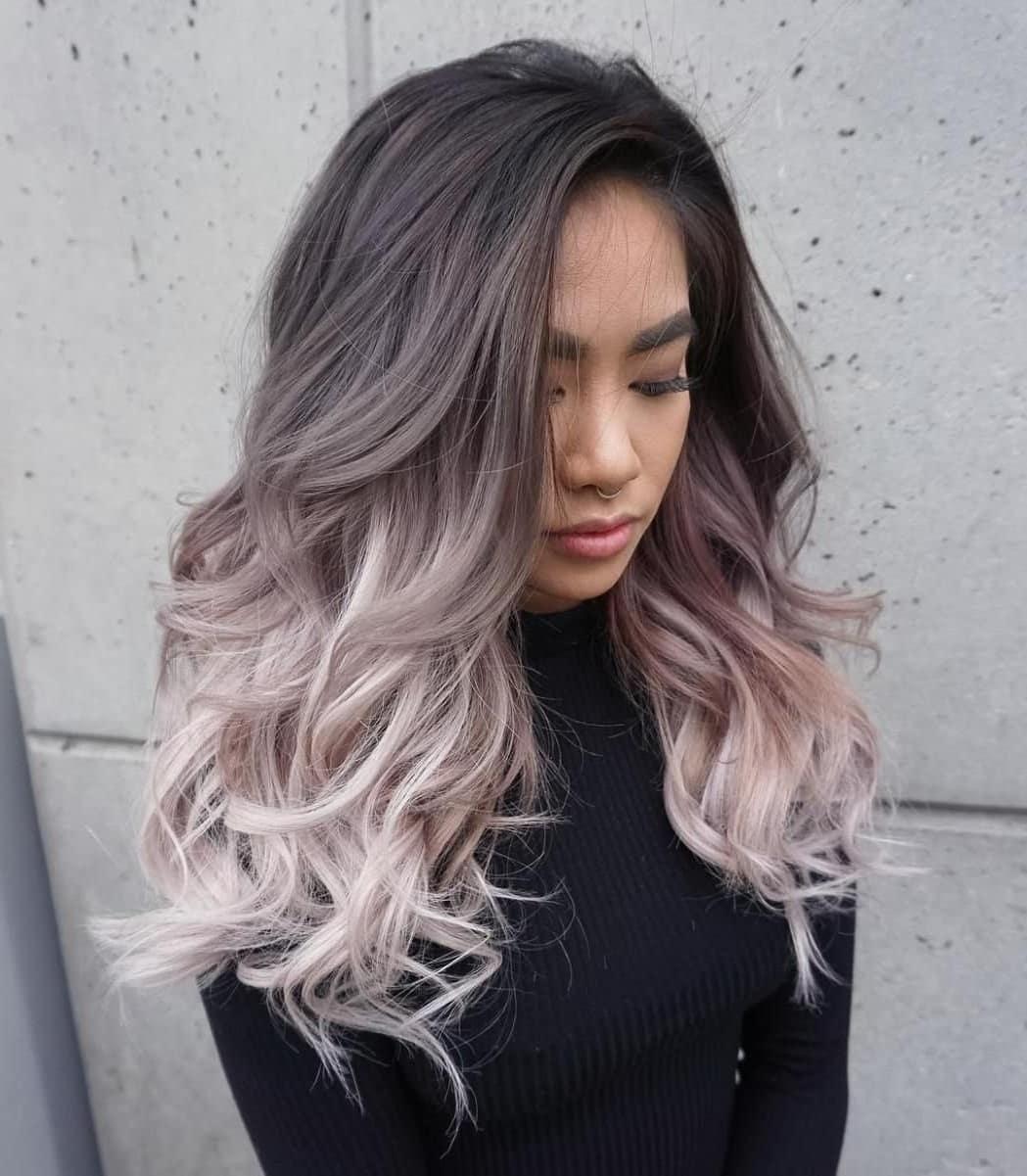 плавні і контрастні переходи на середнє волосся 2019