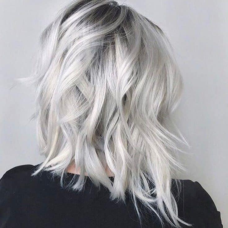 Фарбування з ефектом металік на коротке волосся