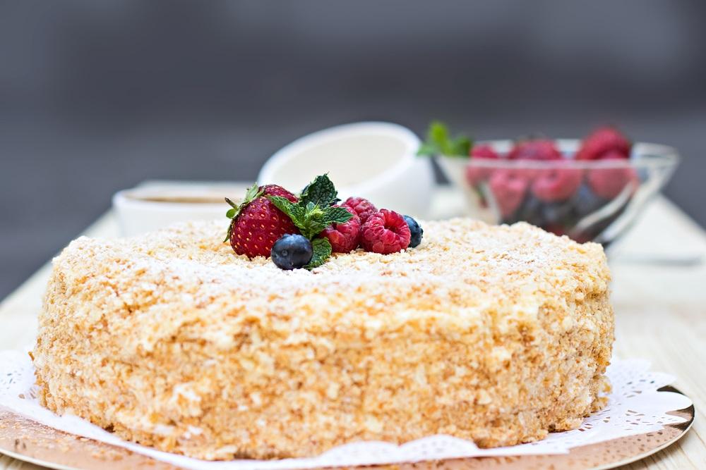 торт наполеон класичний
