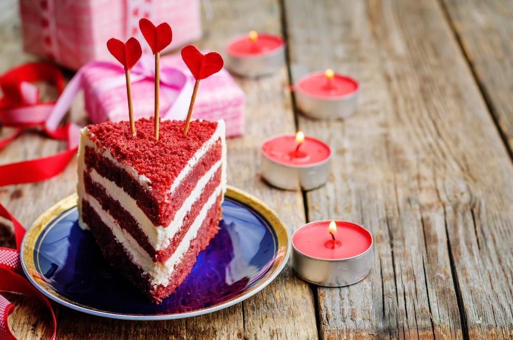 як спекти торт на день святого валентина