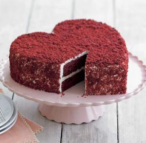 торт на день святого валентина