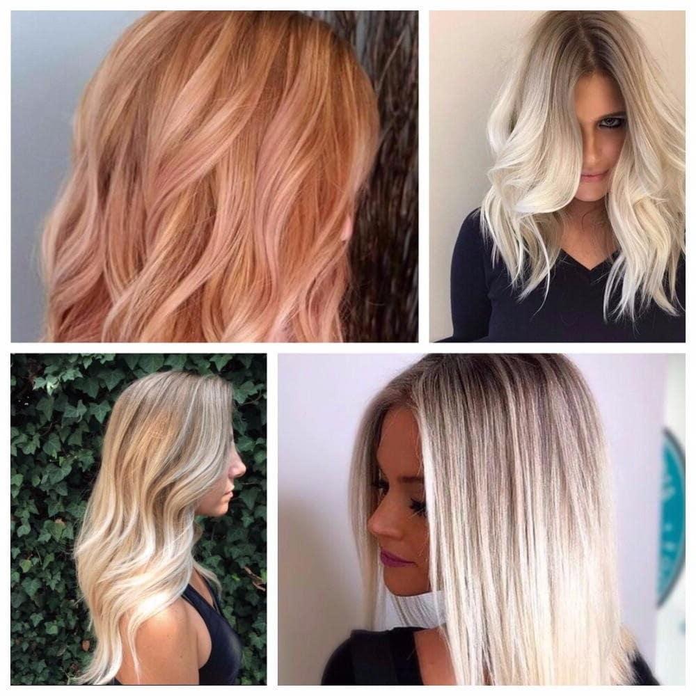 модний колір волосся для блондинок 2019