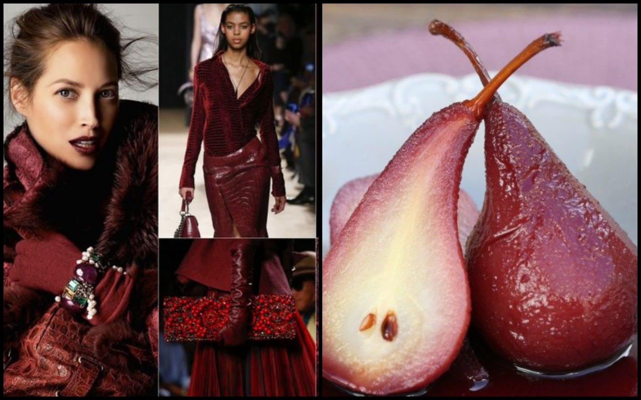 одяг відтінок червоної груші