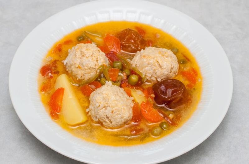 Суп з фаршем рецепт