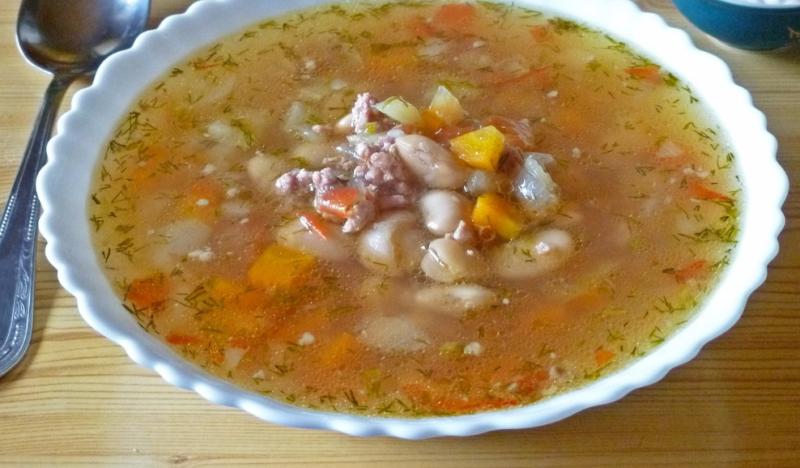 Суп з фаршем по–мексиканськи