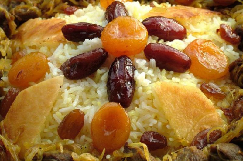 Азербайджанський солодкий плов